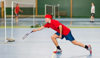 Badminton Team Event in Heidelberg
