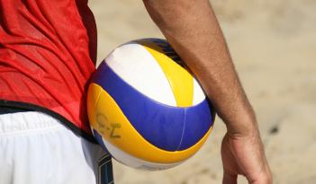 Beachvolleyball Team Event in Heidelberg