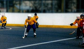 Inlinehockey Team Event in Heidelberg