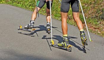Sommer-/Winter-Biathlon in Heidelberg